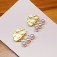 ANKE Accessoires Art Pearl Earring gold-colored-natural white metal