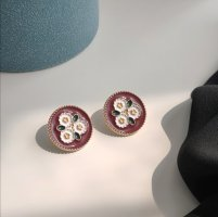 ANKE Accessoires Art Ear stud multicolored polyacrylic