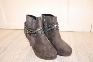 Depeche Ankle Boots grey brown