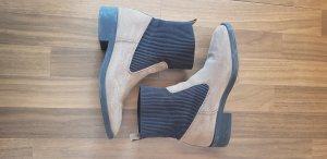 Esprit Ankle Boots dark brown-beige