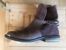Ankle Boots Stiefletten Leder