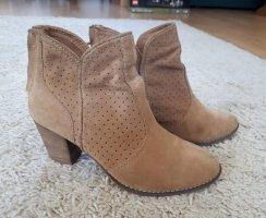 Ankle boots (Wild-)leder von Pull&Bear