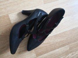 Anklepump in schwarz
