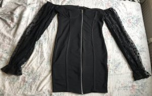 I saw it first Evening Dress black-silver-colored