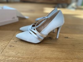 Anna Field Strapped pumps light grey-silver-colored