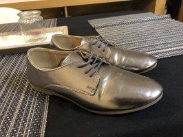 Anna Field Chaussures à lacets bronze