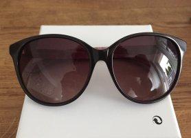 Anna Sui Okulary motylki czarno-brązowy