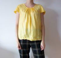 Anne Klein Zijden blouse sleutelbloem Zijde