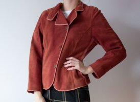 Anne Klein Leather Jacket russet leather