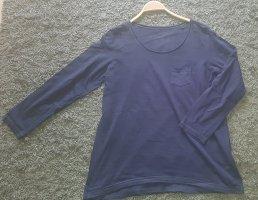 Anne L. Koszulka z długim rękawem niebieski