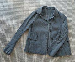 Annette Görtz Short Jacket grey-slate-gray linen