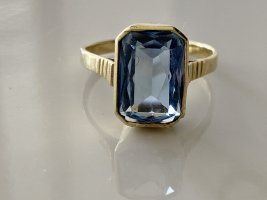 Vintage Gold Ring multicolored
