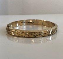 Antik Jugendstil 800 Silber Armband Armreif Gold Juwelierarbeit Meisterpunze