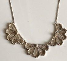 Antik Jugendstil 835 Silber Collier Kette Silberkette Halskette