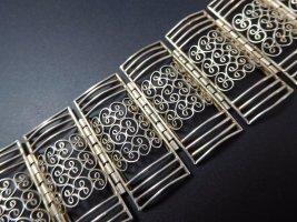 Antik Jugendstil Art Deco Armband 835 Silber filigran Ornamente