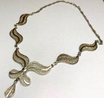 Antik Jugendstil Silbercollier 925er Sterling Silber