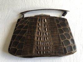 Antike Tasche Krokodilsleder