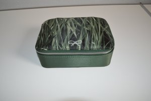 Anya hindmarch Clutch forest green synthetic material