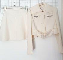 Carven Tailleur bianco-bianco sporco Lana