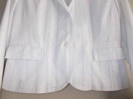 Anzug weiß mit schwarzen Streifen, Gr. 40