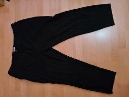 Sheego Spodnie garniturowe czarny