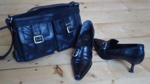 Apart Umhänge Tasche und ital. Pumps von Conti Gr. 5