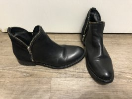 Apple of Eden Stiefeletten Chelsea Boots Rochen Optik echt Leder Gr. 38 Np 149€