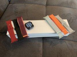 Apple Montre numérique multicolore