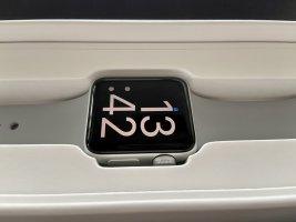 Apple Watch Series 3 / Aluminium Silber / 38mm