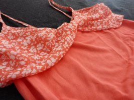 Apricotfarbenes Top von Oysho in S