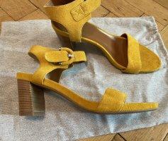 Aquatalia Sandaletten, gelb, neu.