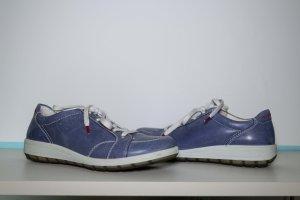 Ara Damenschuhe, Sneaker, Halbschuhe, Blau, Gr. 39