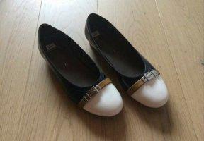 Ara Luftpolster Classic Court Shoe white-dark blue