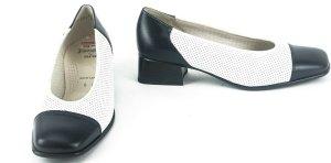 ara Chaussure décontractée bleu foncé-blanc cuir