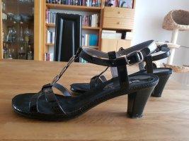 ara Sandalo con cinturino e tacco alto nero