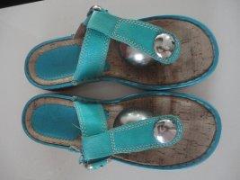 ara Sandalo toe-post multicolore Pelle