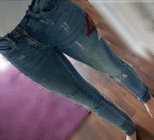 Arizona Wortel jeans leigrijs