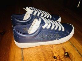 Arizona Sneaker Damen Schnürer Halbschuhe Turnschuhe Blau Gr. 39 Neu