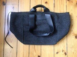 ARKET Shopper noir cuir