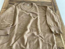 ARKET Sweter oversize cognac