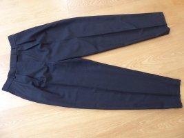 ARKET Pleated Trousers black wool
