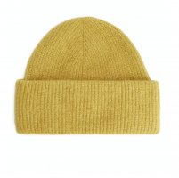 ARKET Chapeau en tricot jaune primevère style décontracté