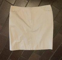 Armani Jeansowa spódnica jasnobeżowy Bawełna