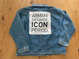 Armani Exchange Jeansowa kurtka Wielokolorowy