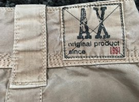 Armani Exchange Pantalon cargo brun sable coton