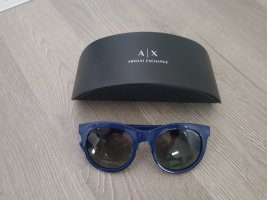 Armani Exchange Round Sunglasses blue-dark blue