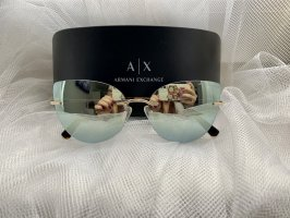 Armani Exchange Gafas mariposa color oro-color plata