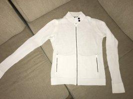 Armani Exchange Veste en tricot blanc