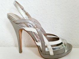 Armani Jeans high heel Sandalen wedding Hochzeit boho retro