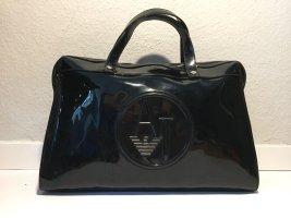 Armani Jeans Handbag black synthetic material